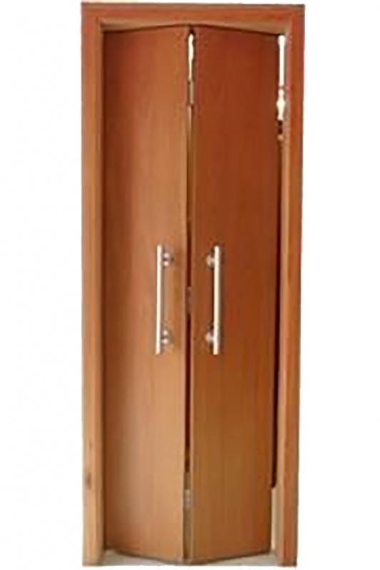 Portas de Madeira Articulada Butantã - Porta em Madeira