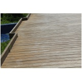 decks de madeira para piscina Osasco