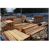 madeiras para obra Vila Sônia