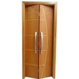 porta de madeira articulada preço Alphaville