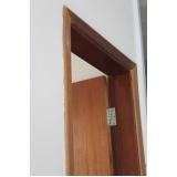 porta de madeira com batente preço Morumbi