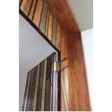 porta de madeira com batente Alphaville