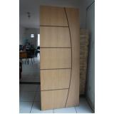 porta de madeira para área externa Butantã