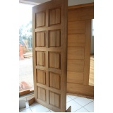 porta em madeira preço Cotia