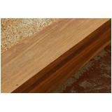 prancha de madeira de cumaru Jaguaré