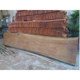 prancha de madeira para tampo de mesa Jaguaré