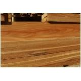 prancha de madeira de cumaru