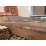 prancha de madeira para tampo de mesa
