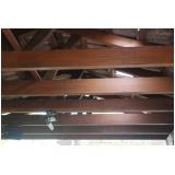 quanto custa viga de madeira para telhado Butantã