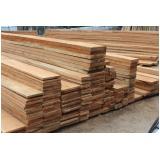 tábua de madeira cambara Jaguaré