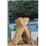 tábua de madeira para construção Taboão da Serra