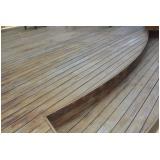 tábua de madeira para deck preço Cotia