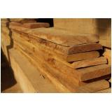 tábua de madeira para deck Jaguaré
