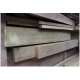 tábuas de madeira garapeira Cotia