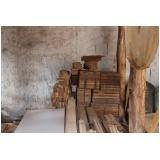 taco de madeira para porta Granja Viana
