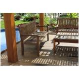 venda de deck de madeira com pergolado Butantã