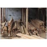 viga de madeira garapeira Alphaville