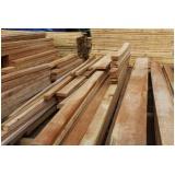 viga de madeira cambará